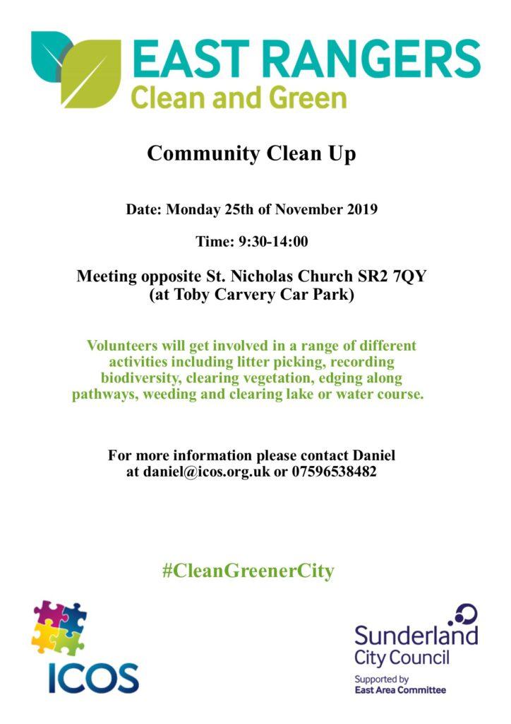 St Nicholas Church Clean Up on 25th November @ St Nicholas Church