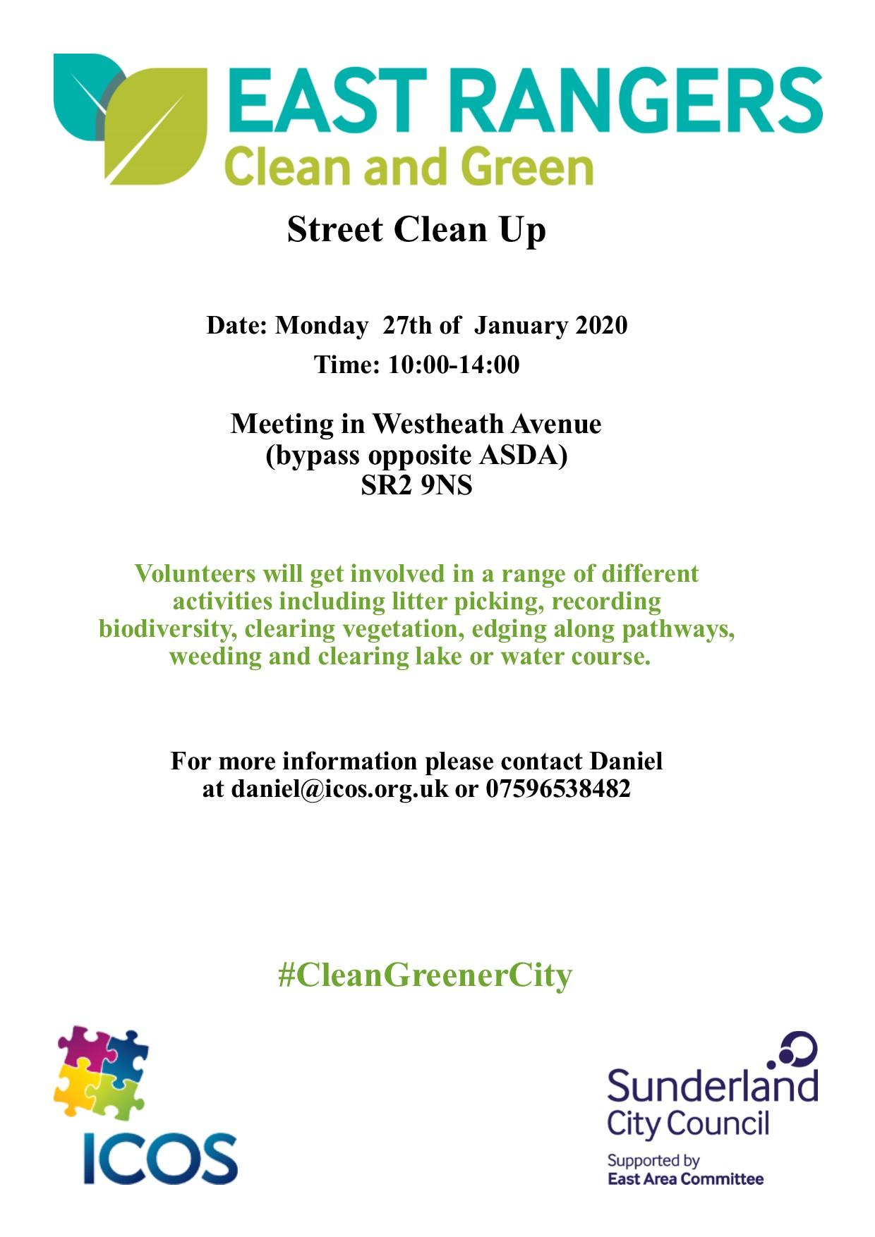 Westheath Avenue Clean Up @ Westheath Avenue